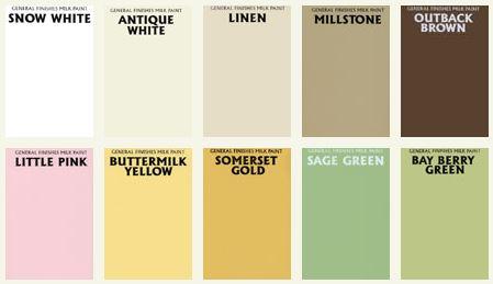 milk paints colors 1