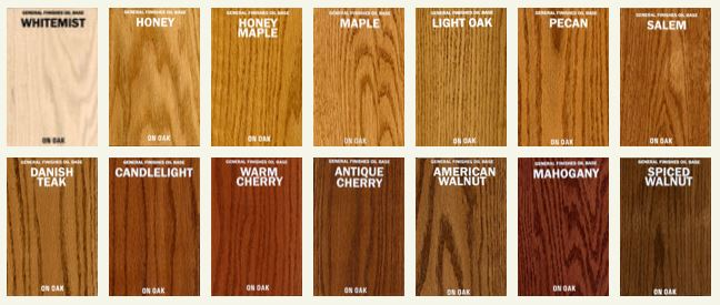 oil based stain colors