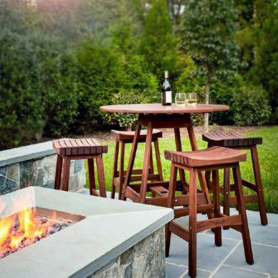 Outdoor Chairs + Stools